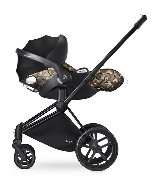 Cybex Priam - Butterfly Fashion Collection - versione travel system, con seggiolino auto Cloud Q - cercapasseggini 2016