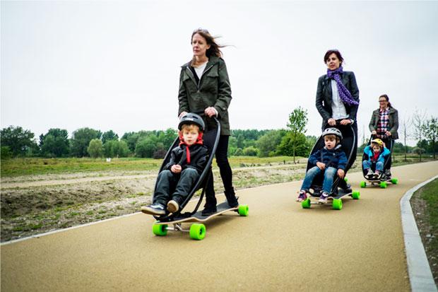 Longboard Stroller Longboard Stroller Sono