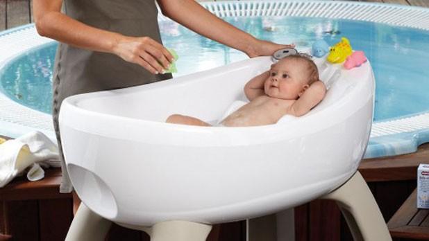 Idromassaggio per il beb perch no - Vasca bagno bambini ...