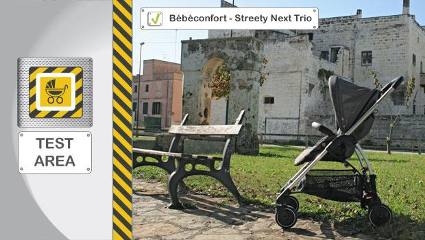 Test Recensione Bebe Confort Trio Streety Next